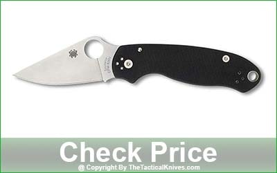 Spyderco Para 3 Signature Folding EDC Pocket Knife